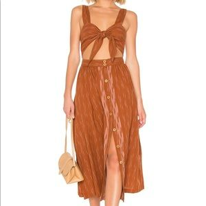 NWT Free People tie front dress